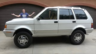 The Laforza Is an Ultra-Quirky Luxury SUV Failure