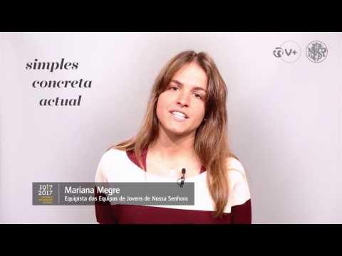 Vozes do Centenário. Mariana Megre