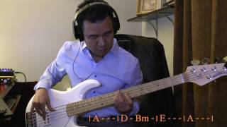 Because He Lives I can Face Tomorrow - Bass Cover