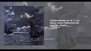 2 Elegiac Melodies, Op. 34