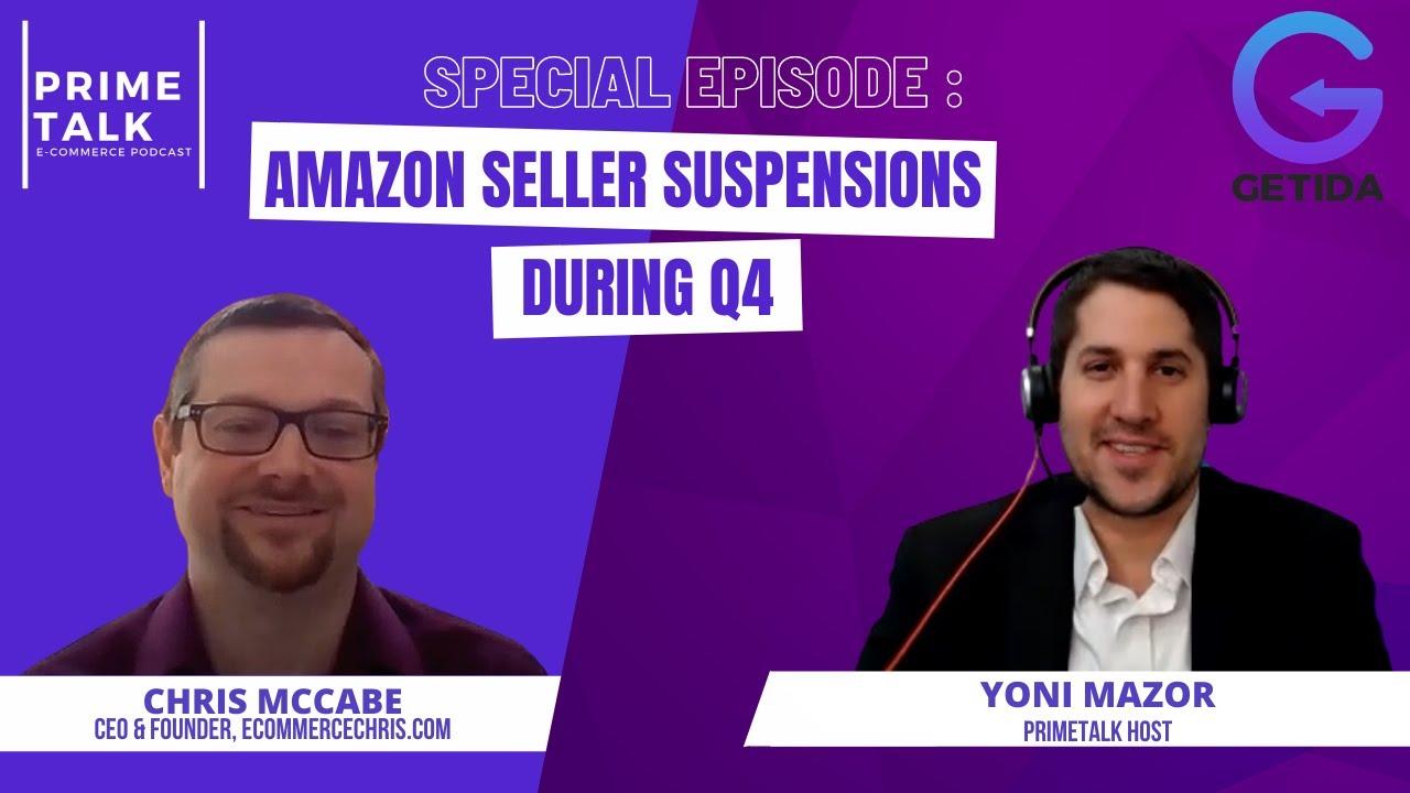 Amazon Seller Performance Best Practices for Q4. Chris McCabe