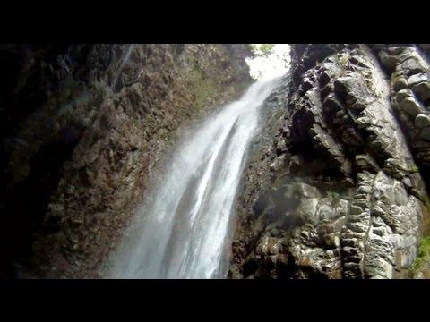 Dalla Slovacchia in visita alle cascate di Cittiglio