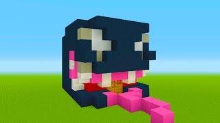Minecraft Tutorial: How To Make A Venom Head House