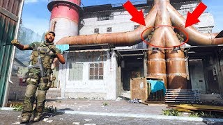 THE MOST OVERPOWERED HIDING SPOT EVER IN MW!!! HIDE N' SEEK ON MODERN WARFARE