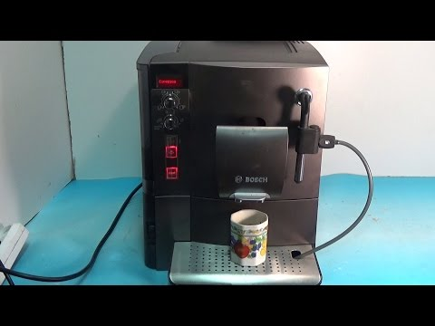 Ремонт кофемашины Bosсh не дает воду
