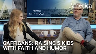 EPISODE 1: Jim and Jeannie Gaffigan on raising five children with faith and humor | Faith in Focus