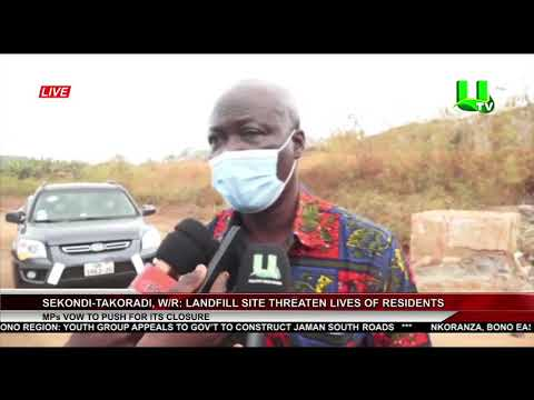Sekondi-Takoradi: Landfill Site Threatens Lives Of Residents