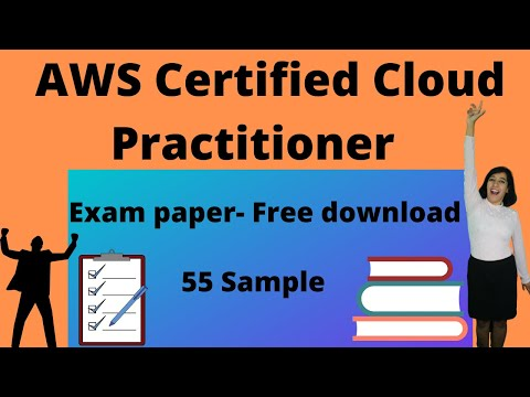 AWS Certified Cloud Practitioner   55 Sample Exam paper- Free ...