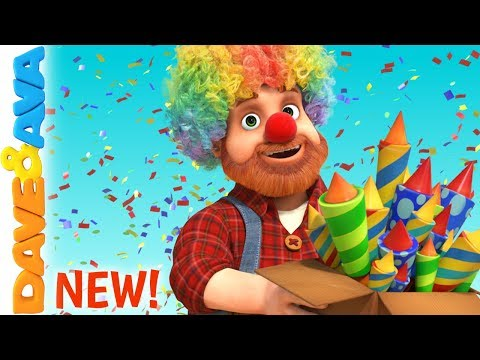 🎈Happy Birthday Song | Baby Songs & Nursery Rhymes from Dave and Ava 🎈