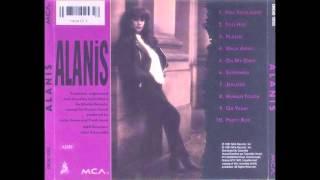 Alanis Morissette WALK AWAY 1991 Alanis MCA Canada pop