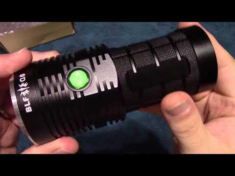 BLF Q8 Flashlight Review!