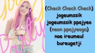GIRLS' GENERATION (소녀시대) - Check [Single - Party] Lyrics Color Coded