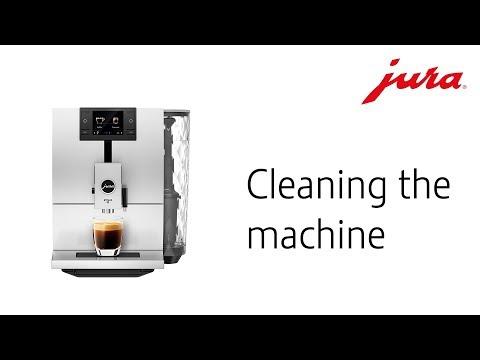 Čištění stroje JURA ENA 8