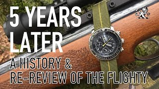 5 Years Later With My Favourite $200 Seiko - A History & Review Of The FlightMaster SNA411