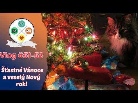 Vlog #51 - 52: Šťastné Vánoce a veselý Nový rok