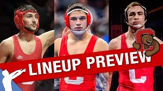 Cornell Wrestling Lineup Preview (2019-2020)