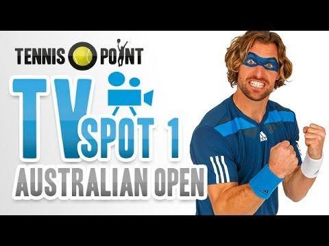 Tennis-Point setzt im TV auf sehr auffälliges Make-up