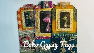 Boho Gypsy Tags Tutorial