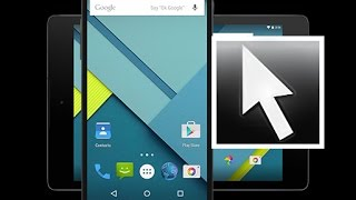 How to use mouse pointer on mobile screen    How To install Mouse IN