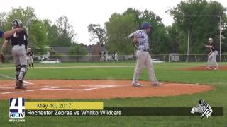 Rochester Baseball vs. Whitko Wildcats