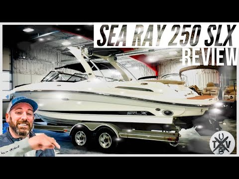 Sea Ray 250 SLX video