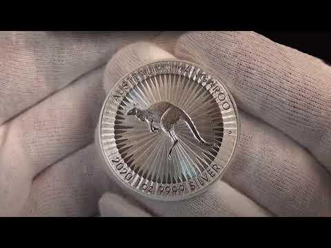 Australian Kangaroo Silver Bullion Coin