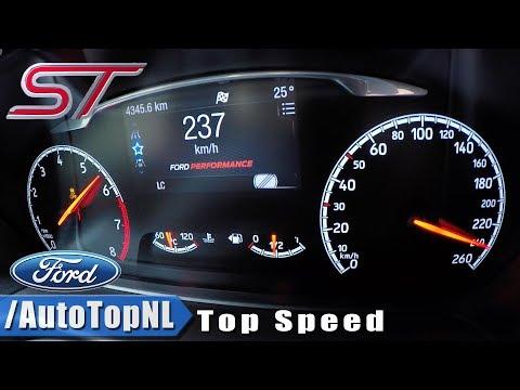 2019 Ford Fiesta St Top Speed 237km H Autobahn Pov By Autotopnl