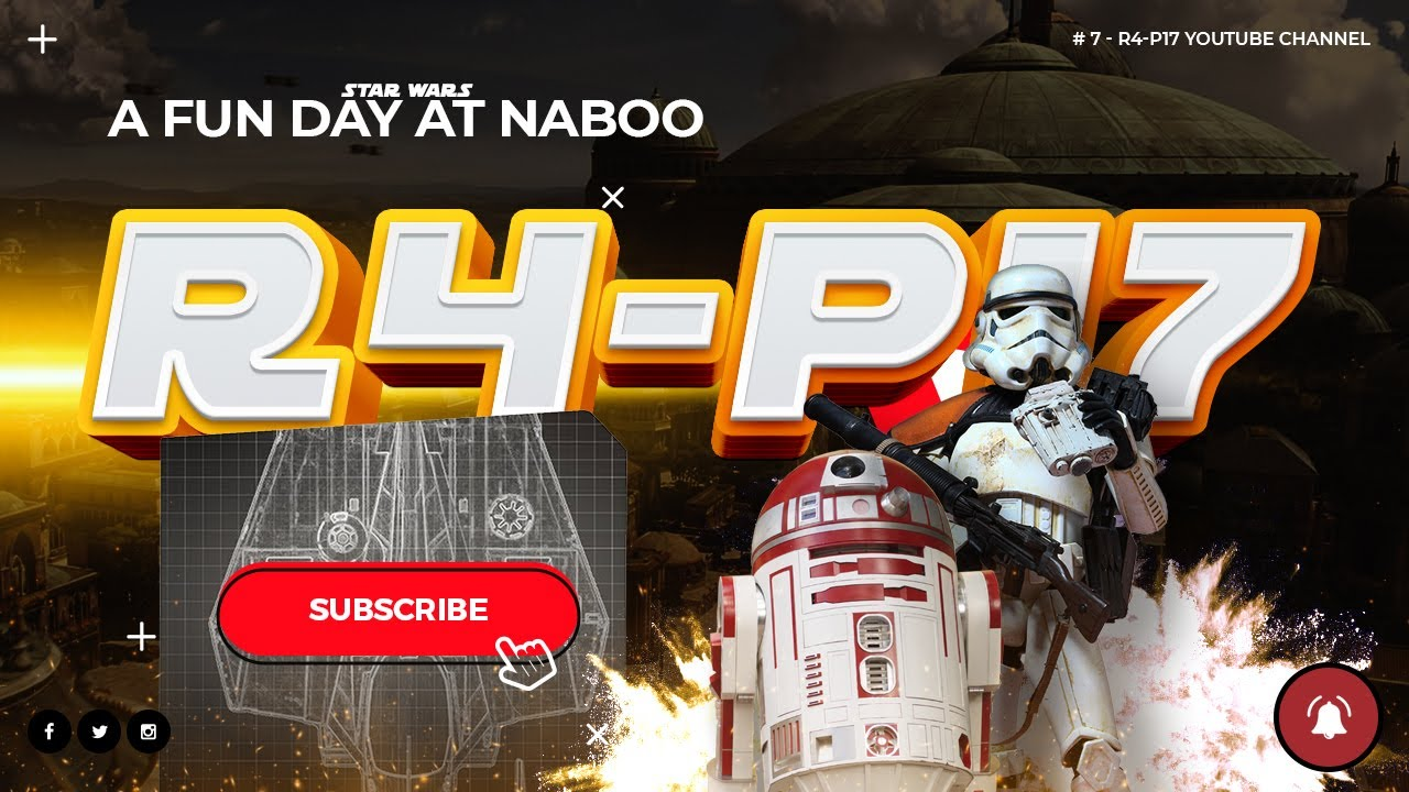 R4-P17 has a fun day at Naboo