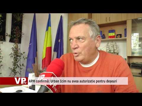 APM confirmă: Urban Icim nu avea autorizație pentru deșeuri