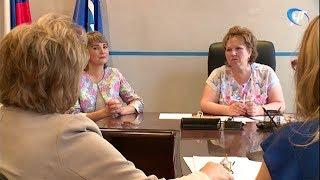 Елена Писарева провела прием по личным вопросам