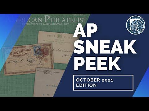 Behind The Scenes Ep.7: The American Philatelist (October 2021)