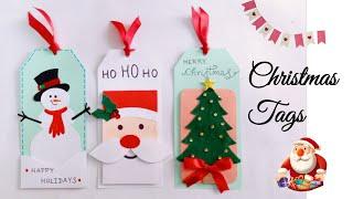 Christmas Cards And Gift Tags/Handmade Christmas Gift Tags/Christmas Gift Ideas/Christmas Crafts
