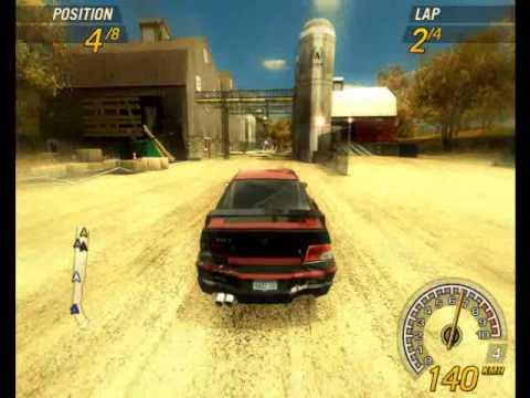 Gameplay de Flatout 2