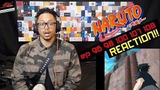 Naruto vs Sasuke Super Reaction! First Time Watching Naruto Episode 96 98 100 107 108