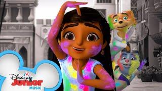 Holi Festival Mystery | Music Video | Mira, Royal Detective | @Disney Junior