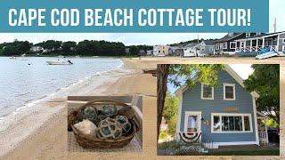 Cape Cod Beach House Tour/COTTAGE DECOR! Darling!