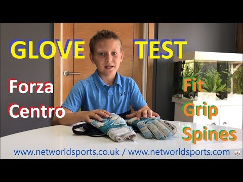 Forza Centro Goalkeeper Gloves in-Play Test | Review by Young Goalie / Glove Review