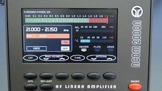 ALPHA TELECOM: AMPLIFICADOR LINEAR ACOM 2000A REVISÃO