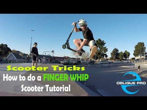 HOW TO Finger Whip Scooter Tutorial (@tom_flipflops)