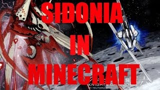 Knights of Sidonia: Sidonia in Minecraft!