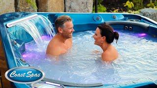 Coast Spas® Luxury Infinity Edge Hot Tub