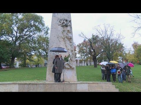 Megemlékezés a Tabáni 56-os emlékműnél 2017 - video preview image