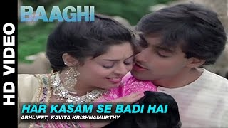 Har Kasam Se Badi Hai - Baaghi: A Rebel for Love | Abhijeet