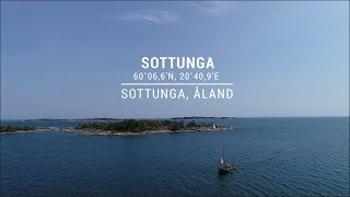Safe Approach to Sottunga port in Sottunga, Åland