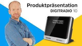 DIGITRADIO 10 |  DAB+ Radioadapter mit OLED-Display und Bluetooth-Audiostreaming. | TechniSat