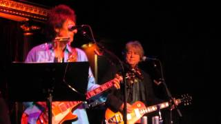 Ron Wood  Mick Taylor. Baby What You Want Me To Do. 11/9/13. The Cutting Room