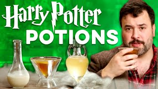 Potions From Harry Potter made Real! | How to Drink