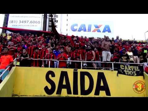 """""""Brava Ilha - Vamos, pra cima deles meu Leão"""" Barra: Brava Ilha • Club: Sport Recife • País: Brasil"""