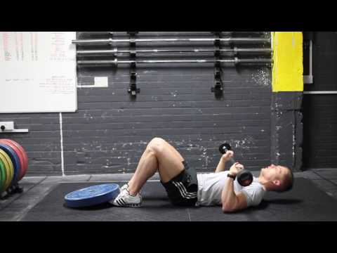 Barbell Press Sit Ups