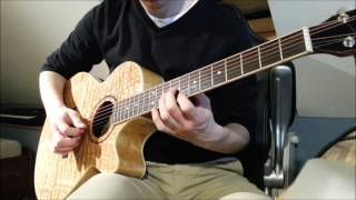 Avenged Sevenfold - Sidewinder - guitar solo cover
